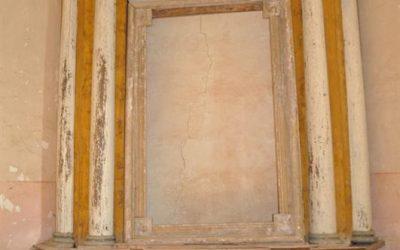 Lygumų kapinių koplyčios altoriaus retabulas